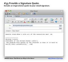 Email Signature Quotes Simple 48 Ways To Add Humor To Your Email Signature