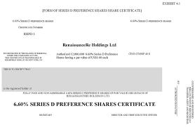 Form Of Share Certificate Form Of Share Certificate