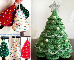 Free Crochet Christmas Tree Patterns Enchanting Trendy Idea Crochet Christmas Tree Ornaments Pattern The Best Ideas