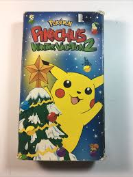 Pokemon Pikachu's Winter Vacation 2 VHS Video Christmas 2000 RARE Hard to  Find for sale online