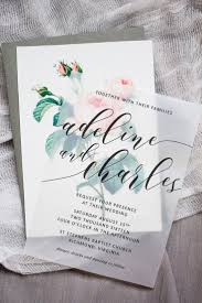best 25 wedding invitations ideas on pinterest wedding Buy Evening Wedding Invitations make these sweet floral wedding invitations using nothing more than a store bought template, vellum Luau Wedding Invitation Templates