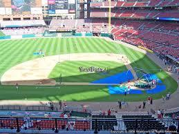 St Louis Cardinals Stadium Seating Chart Busch Stadium Section 255 Rateyourseats Com