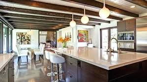 black kitchen cabinets with white marble countertops. Black Marble Countertops White Cabinets Glamorous Kitchen With