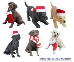 sandicast labrador christmas ornaments