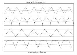 Linetracingprek1 Line Tracing Worksheet Free Printable Worksheets ...