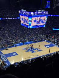 Rupp Arena Section 234 Home Of Kentucky Wildcats