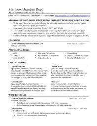 Narrative Resume Samples Narrativeume Sample Curriculum Vitae For Report Interview Paper Apa 5