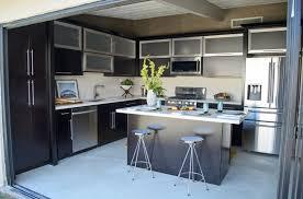 Converting A Garage Into A Kitchen convert garage into kitchen - home design