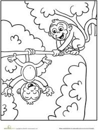 Small Picture Top 25 Free Printable Monkey Coloring Pages For Kids Monkey