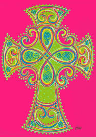 religious garden flags flags hot pink and lime green cross garden flag religious easter garden flags