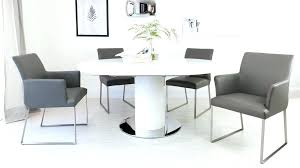 round extending dining table sets white gloss dining table round extending table and chairs white gloss