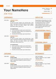 Downloadable Resume Templates Word Beautiful Resume Free Download