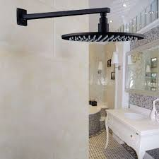 bronze shower head beautiful oil rubbed bronze wall mounted shower arm with round 12 rainfall