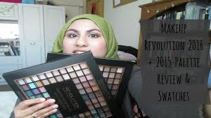 makeup revolution 144 eyeshadows 2016 2016 palette review all swatches ambreenk you