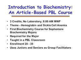 classic research articles as classroom texts for pbl in 12 introduction