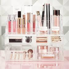 Luxe Acrylic Makeup Storage Starter Kit ...