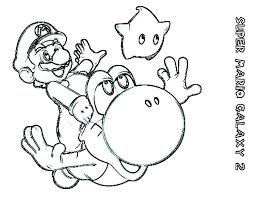 Mario Brothers Printable Coloring Pages E3359 Super Printable