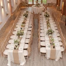 Burlap Table Runners Wedding
