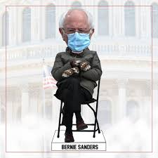 Yes, There's Already a Bobblehead of Bernie Sanders Social Distancing in  His Mittens