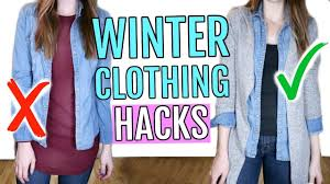 <b>Winter Clothing</b> Hacks You Need to Know - YouTube