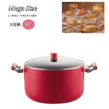 Y-<b>NETS</b>: <b>Pearl metal</b> mega size H-2700 / <b>red</b> stew hot pot cutting in ...