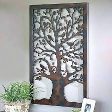 tree of life wall art decoration willow metal decor outdoor on metal wall art trees willow with tree of life wall art decoration willow metal decor outdoor