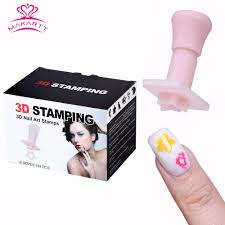 Aliexpress.com : Buy MAKARTT 3D Nail Art Stamps Template Fashion ...