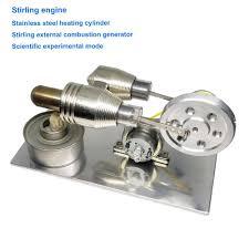 <b>Sterling engine</b> model <b>full metal</b> belt generator new energy ...