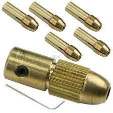 1 Takım 7 Adet 0.5-3mm Elektrikli Matkap Ucu Collet Mikro Büküm Matkap  Chuck Seti Aracı Yeni M04 Dropship Kategoride. Matkap Uçları
