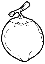 pear clipart black and white. coconut fruit clipart pear black and white l