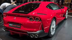 2018 ferrari 812 superfast interior. beautiful 812 2018 ferrari 812 superfast new interior intended ferrari superfast interior