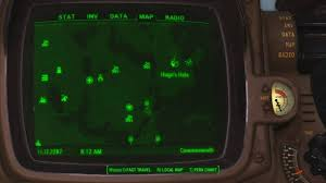 Fallout 4 Interactive Map From Image Gallery Games Maps