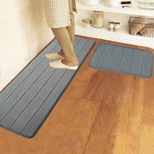 Memory Foam Kitchen Floor Mats 40x120cm Memory Foam Washable Bedroom Floor Pad Non Slip Bath Rug