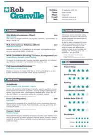creative resume services