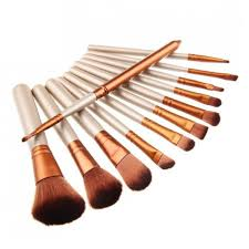 make up brush set makeup with box 12 pcs 11street msia makeup brushes accessories
