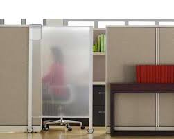Office cubicle door Name Plate Keep Your Privacy Via Sliding Door bestcubicles How About Sliding Door For Each One Pinterest Keep Your Privacy Via Sliding Door bestcubicles How About