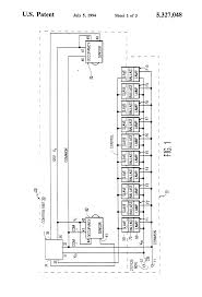 patent us5327048 bi level lighting control system for hid lamps patent drawing