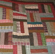 Rail Fence quilt using homespun fabric. Great way for me to use up ... & Rail Fence quilt using homespun fabric. Great way for me to use up all my Adamdwight.com