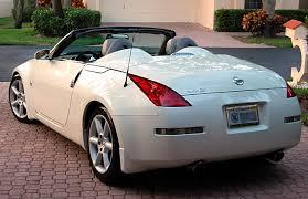 nissan 350z convertible white. Interesting Convertible To Nissan 350z Convertible White Z