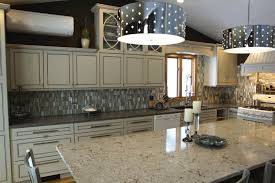 kitchen awash light marble tones