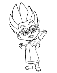 Pj Mask Owlette Coloring Pages At Getdrawingscom Free For