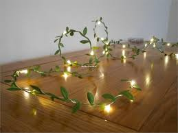 Tiny Battery Operated Lights Us 3 92 20 Off Tiny Leaves Garland Fairy Wire With Mini Led String Light Battery Operated Indoor Garland For Wedding Party Christmas Decoration In