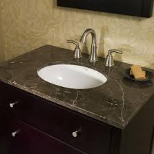 ed accent granite countertop with oval undermount sink
