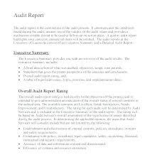 Template Audit Report Report Template For Internal Investigation Format Audit Excel Design