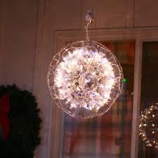 Plastic Cup Light Fixture Sparkleball Tutorial Classic Christmas Decoration