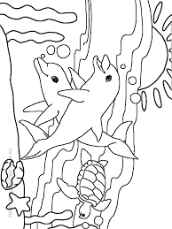 Small Picture Best Sea Animal Coloring Pages 96 About Remodel Line Drawings with