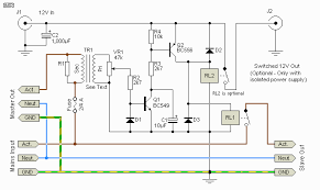 current sensing slave power switch circuit wiring diagrams current sensing slave power switch 5