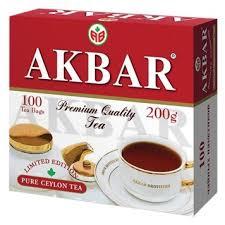 <b>Чай черный Akbar</b> 100 Years <b>Limited</b> Edition в пакетиках — купить ...