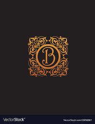 Luxury B B Lake District Grand Designs Luxury Initial Letter B Logo