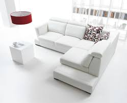 Living Room Contemporary White Furniture Eiforces - Living room furniture white